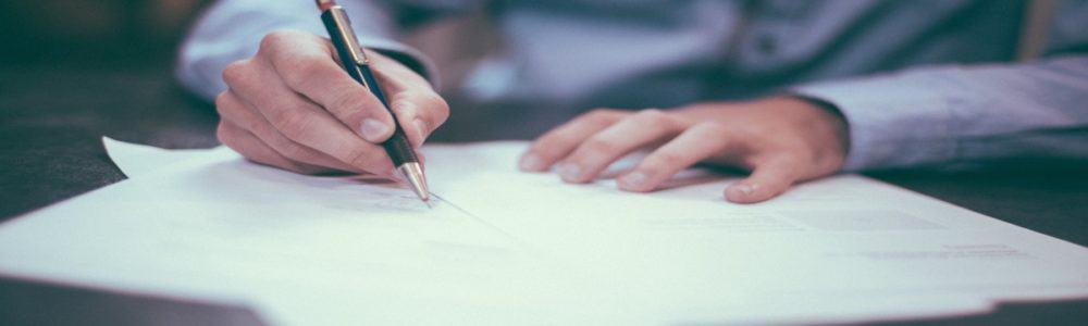 Paper Pen Hand
